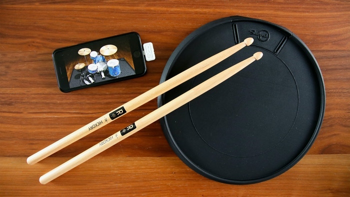 Senspad, more than a drumpad, this is the new generation of drums. Bring your drumkit into your bag. No constraint, be free.