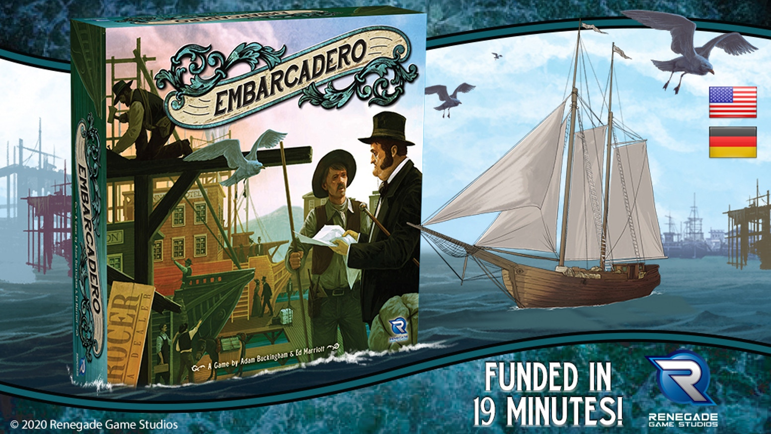 Build the city of San Francisco on the hulls of abandoned ships during the California Gold Rush.