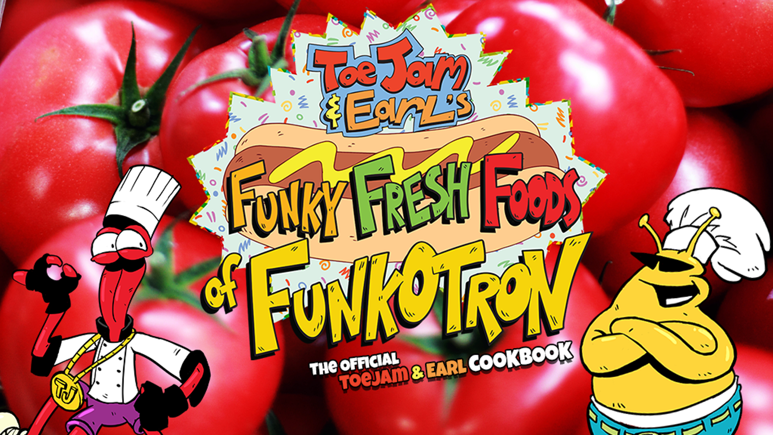 Official Cookbook of ToeJam & Earl. Join the duo as they bring a little out-of-this-world flair to classic dishes and dining fare.