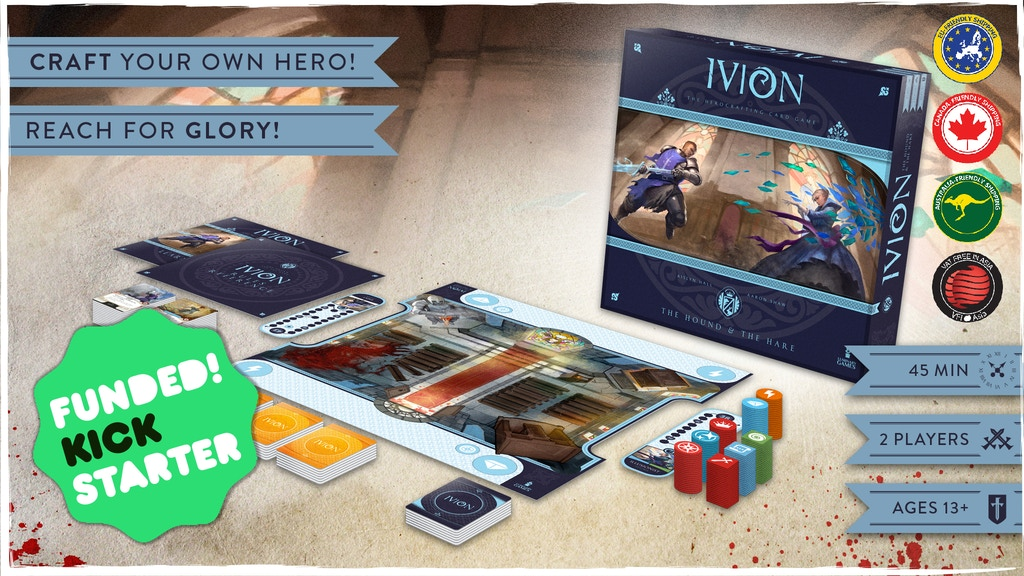 Ivion   The Herocrafting Card Game project video thumbnail