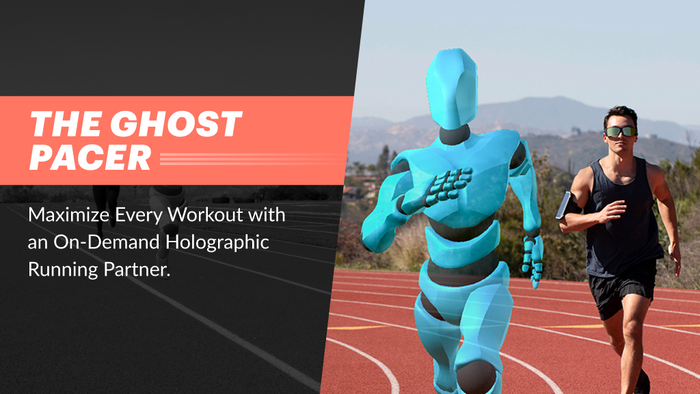 Maximize Every Workout with an On-Demand Holographic Running Partner