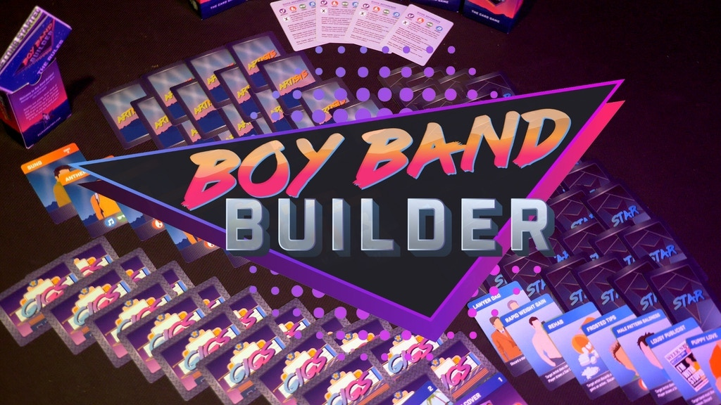 Boy Band Builder: The Card Game!