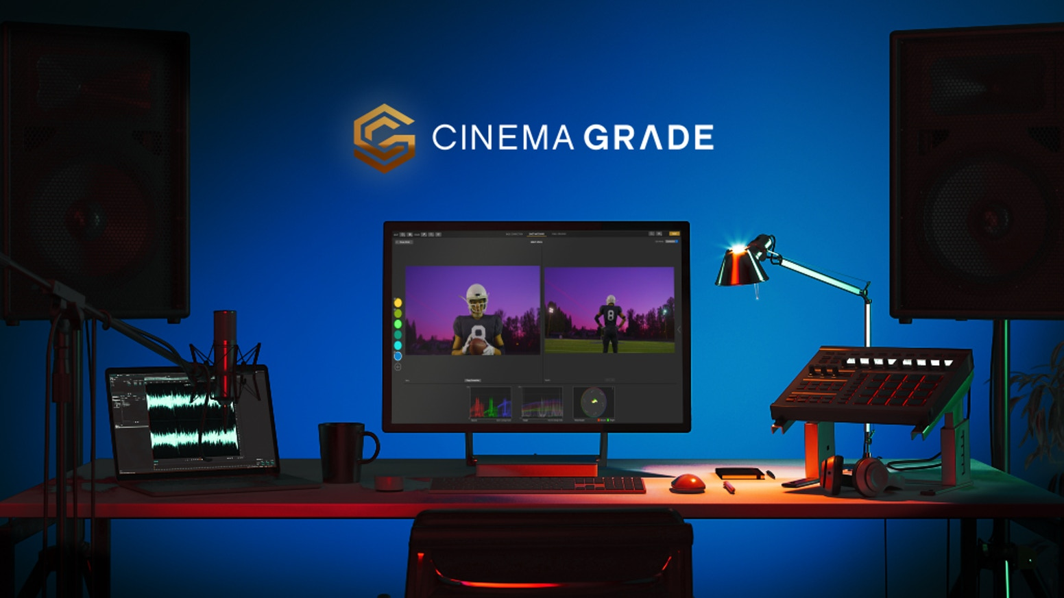 """Get the proven plugin that helps filmmakers achieve """"Big Budget"""" looks through point-and-click grading in the viewer in minutes..."""