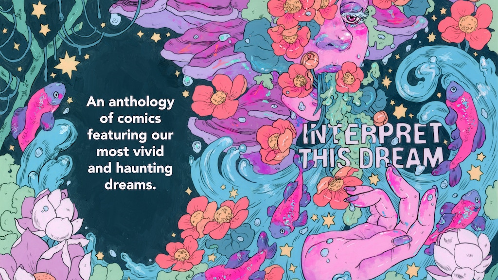 Project image for Interpret This Dream : A Comics Anthology