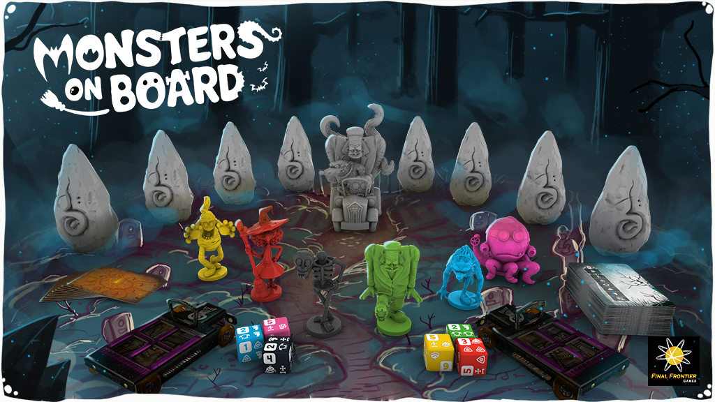 Monsters on Board project video thumbnail