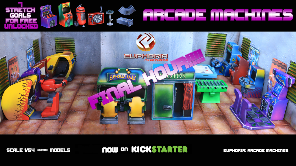 Euphoria: Arcade Machines project video thumbnail
