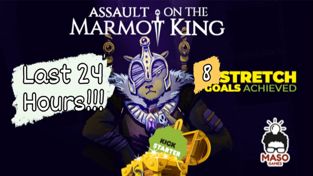 Assault on the Marmot King - Flip&Write Game project video thumbnail