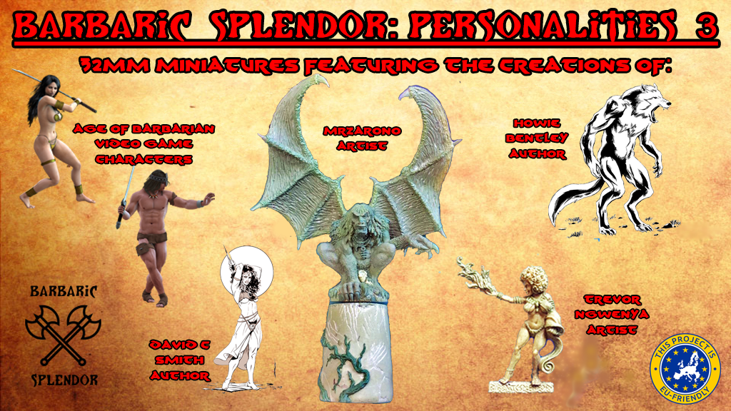 Project image for Barbaric Splendor Kickstarter Three: Personalities 3