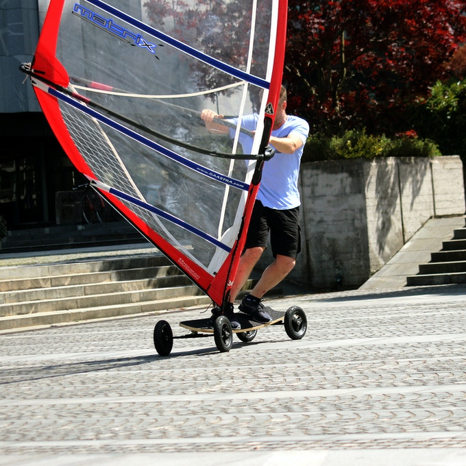 Urban Breez - Street Windsurfing Reborn Taking Urban Street Windsurfing to the Level it Deserves