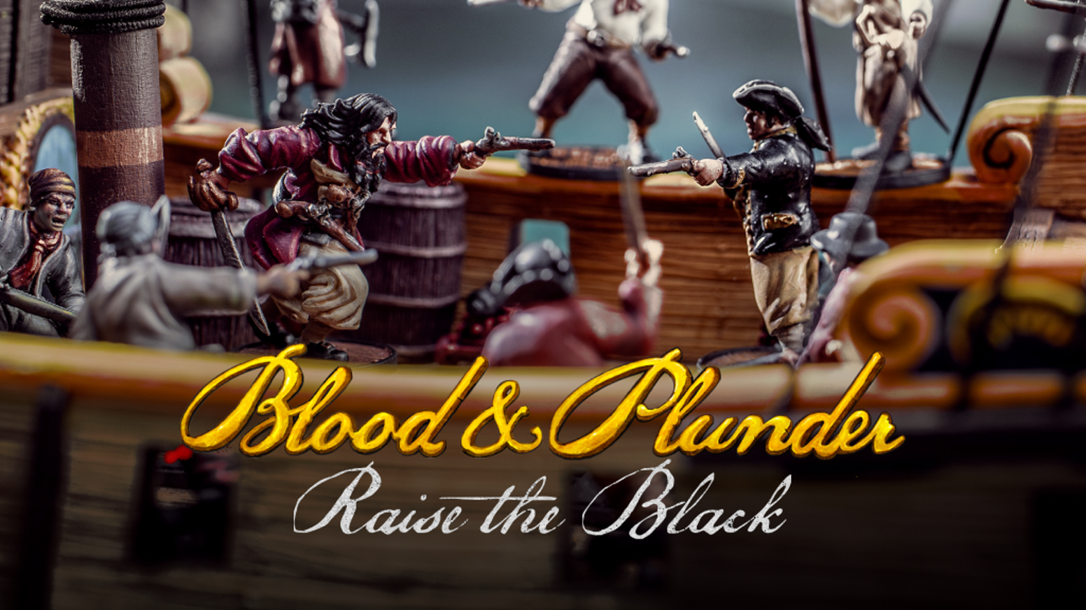 Golden age pirates join the world of Blood & Plunder as we move into the 18th century!