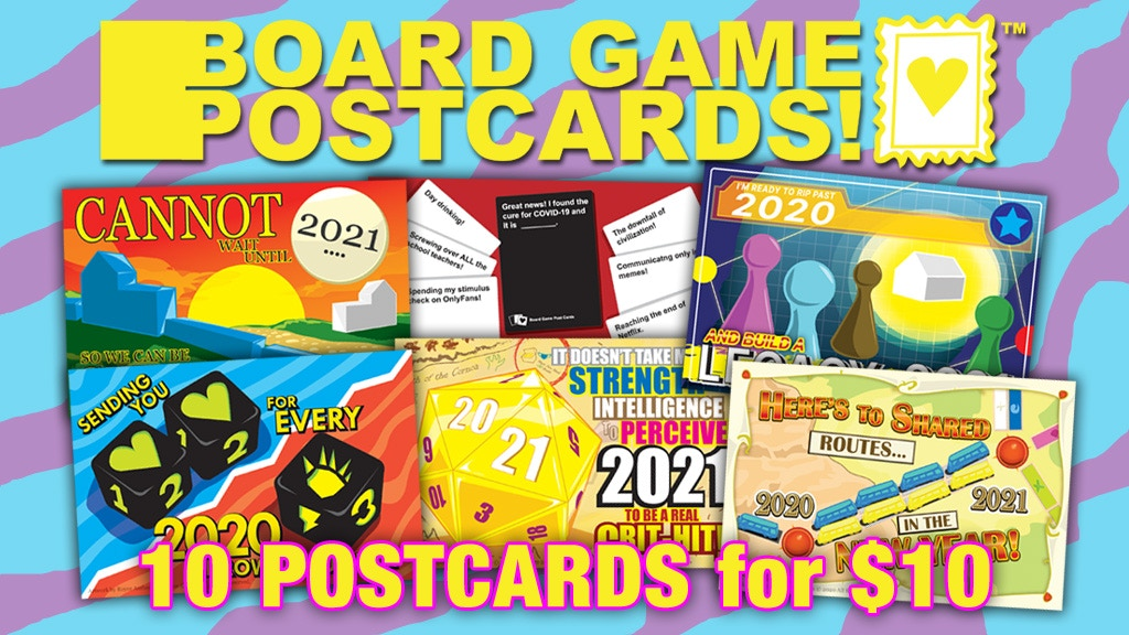 Board Game Postcards project video thumbnail