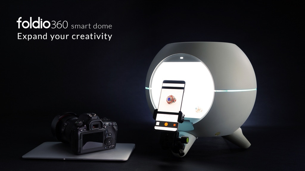 Foldio360 Smart Dome - Expand your creativity project video thumbnail