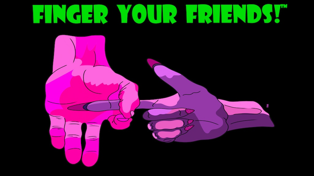 Project image for Finger Your Friends! - A Very Personal Party Game! (Canceled)