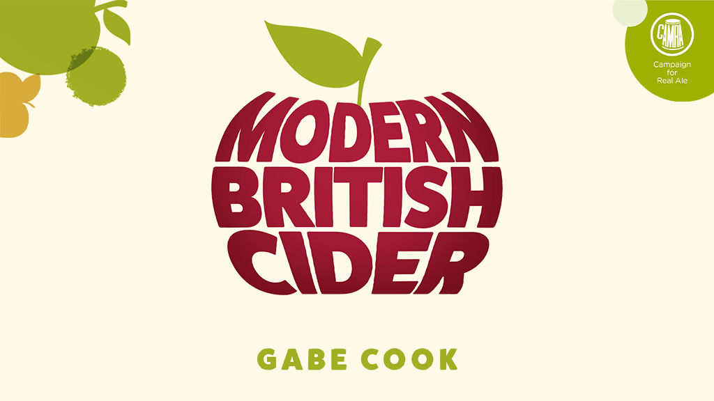 Modern British Cider - a new book by Ciderologist, Gabe Cook project video thumbnail