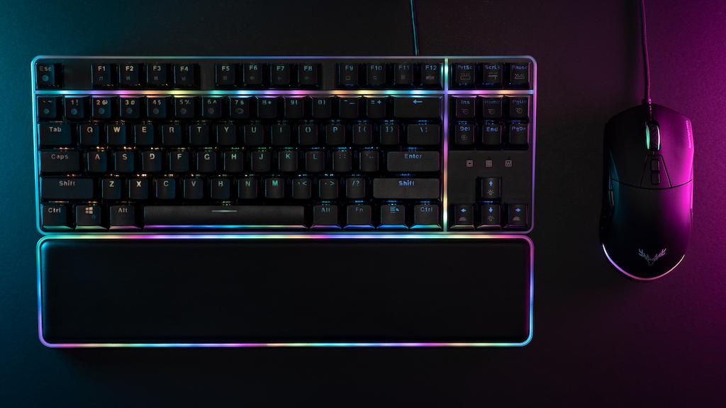 Northern Glow - TKL Optical Gaming Keyboard