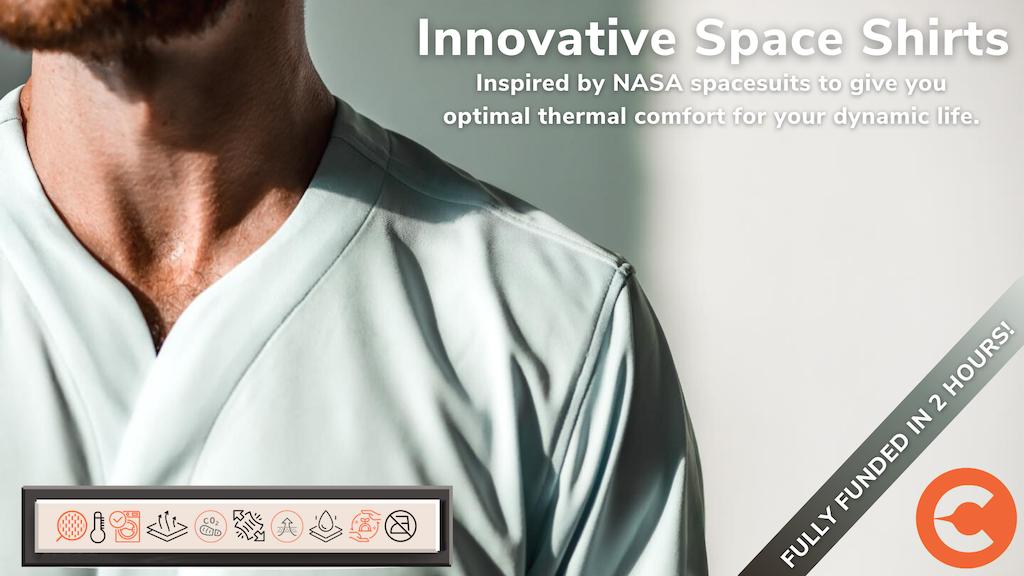 Cheegs: Collarfree Future Dress Shirts, Engineered Comfort. project video thumbnail