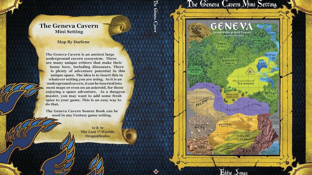 Project image for The Geneva Cavern Mini Setting & 5e Monster Folio