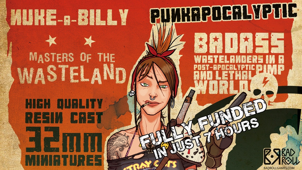 Punkapocalyptic. Masters of the Wasteland project video thumbnail