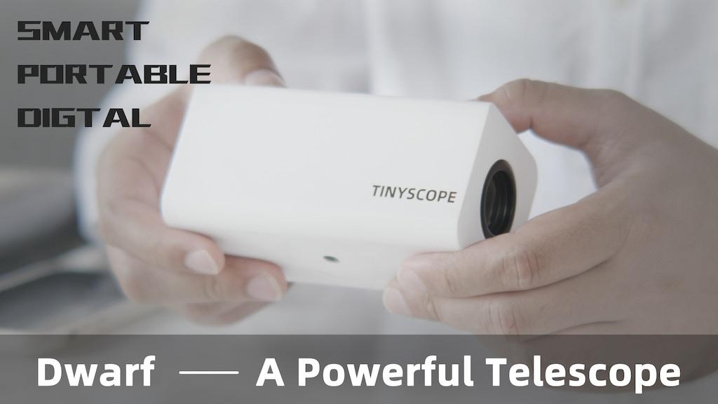 Dwarf Telescope—A Portable Digital Telescope project video thumbnail
