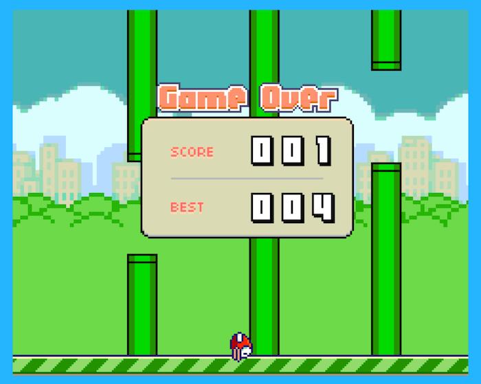 Flappy Bird ZX Spectrum Nextre