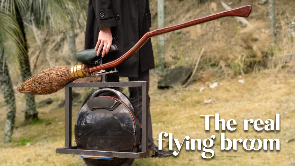 The Real Flying Broom by Alessandro Russo Silveira — Kickstarter