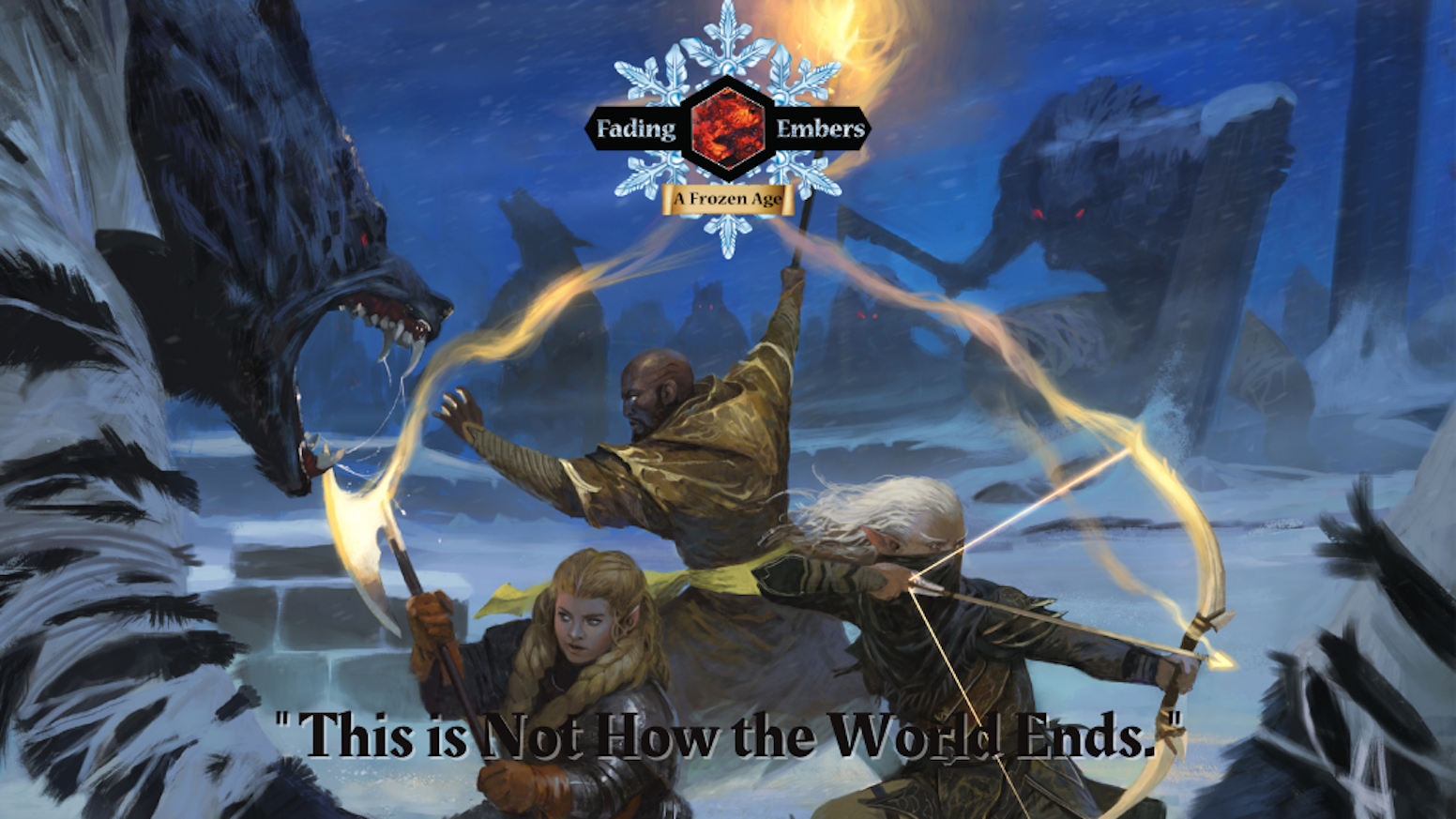 The Kickstarter Campaign may be over, but Pre-Orders continue!5e DnD Campaign Set for a world dying in Snow and Ice.