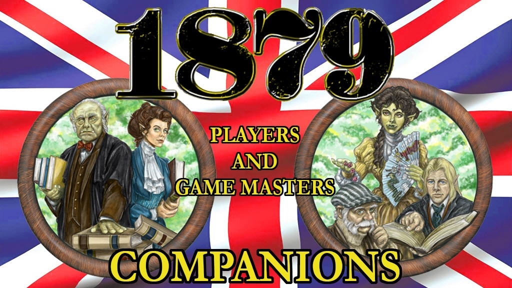 Project image for 1879 Player's and Game Master's Companions
