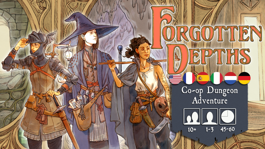 Forgotten Depths - Co-op Dungeon Adventure project video thumbnail