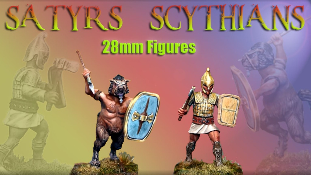 Project image for 28mm Hard Plastic Satyrs and Scythians