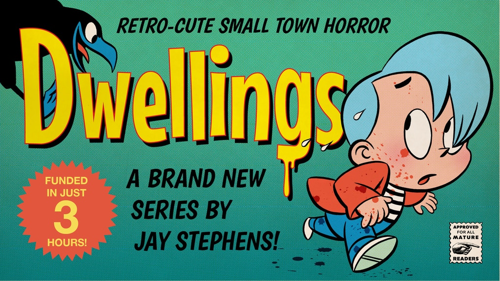 Dwellings: A Brand New Comic by Jay Stephens project video thumbnail