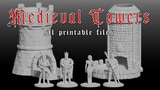 Medieval Dice Towers - STL Printable Files thumbnail