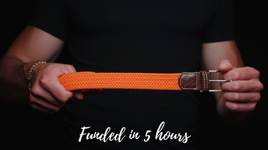 The Woven Belt Made from 7 Recycled Plastic Bottles