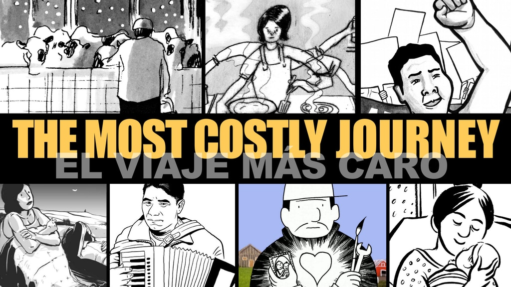 """The Most Costly Journey"" Graphic Novel project video thumbnail"
