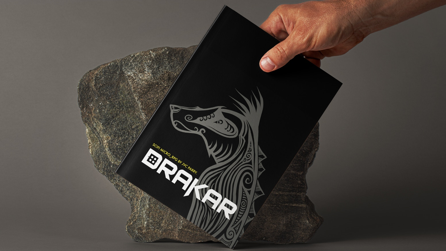 Drakar is a sci-fi indie microRPG that uses dominoes and a d6 to determine the fate of a spacecraft in search of a new homeworld.