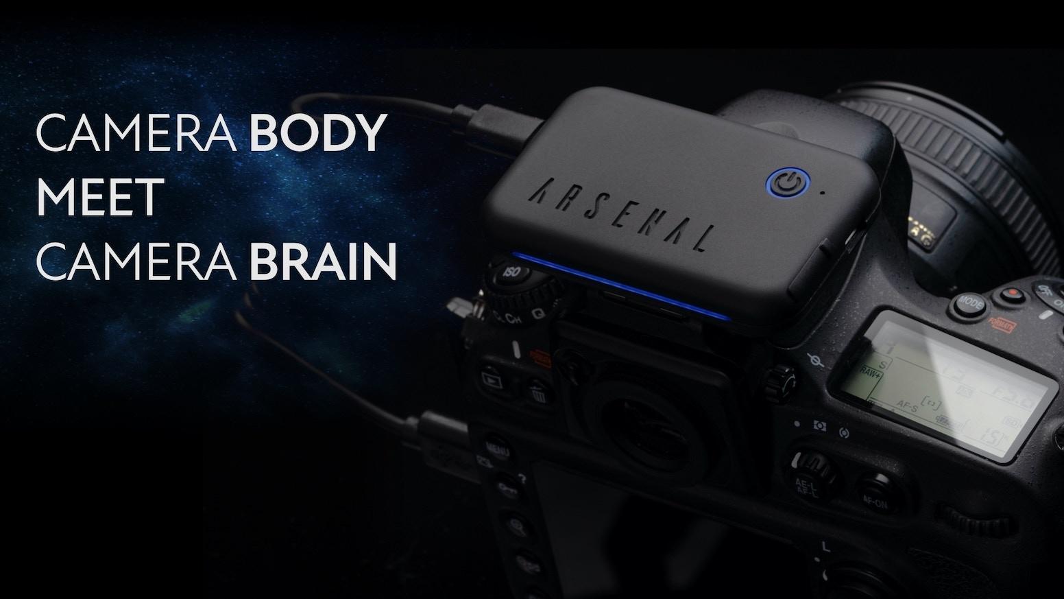 Smarter than ever, Arsenal 2 uses AI to help you take amazing photos.
