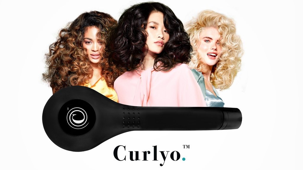 CURLYO - A REVOLUTION IN HAIR CURLING TECHNOLOGY project video thumbnail