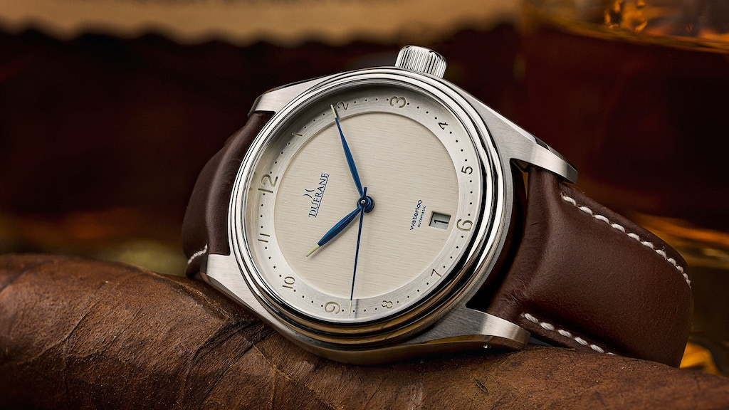 Project image for The Waterloo: a traditional Swiss movement watch from $299