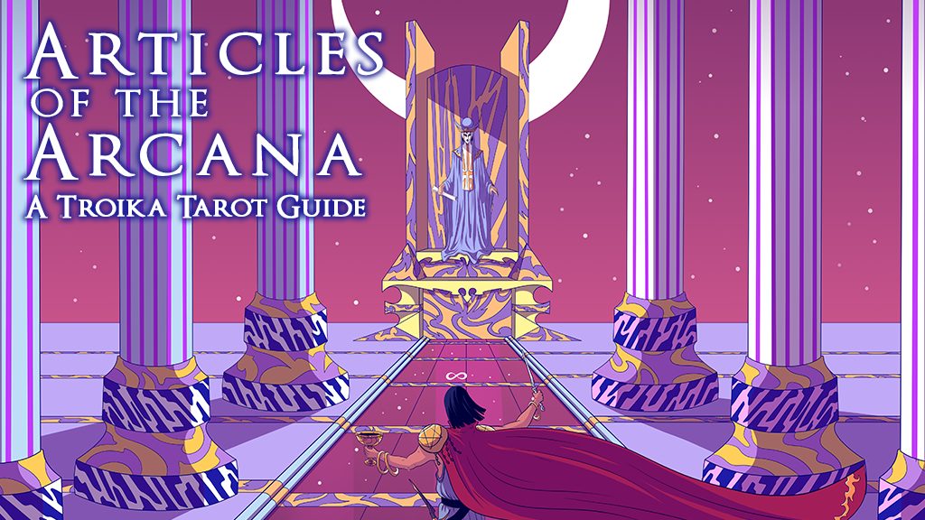 Project image for Articles of the Arcana: A Troika Tarot Guide