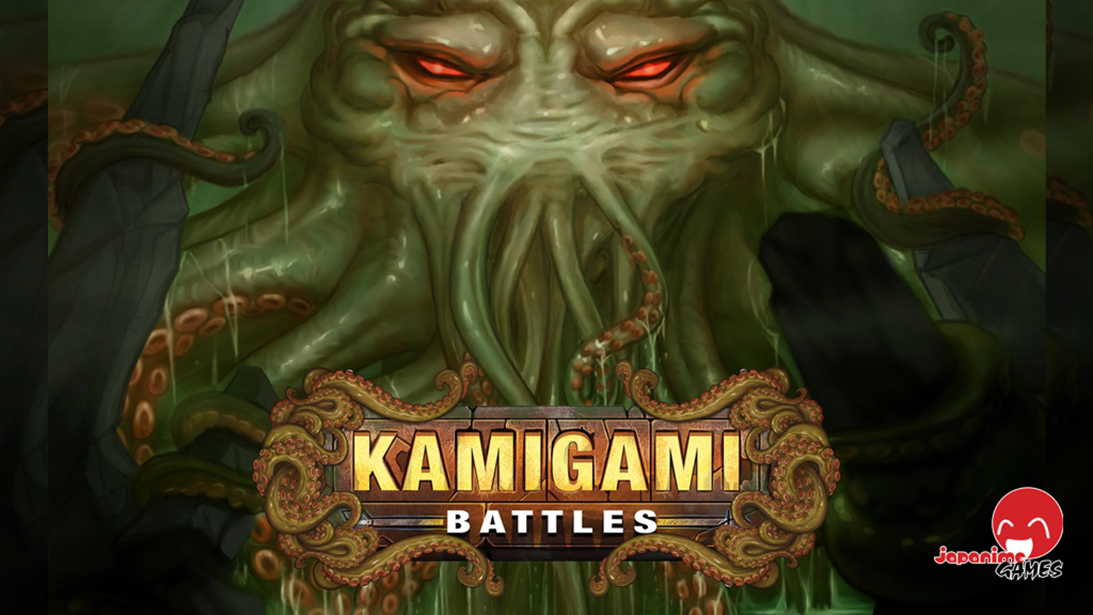 Kamigami Battles meets Lovecraft and gets DARK. Will Cthulhu reign supreme? Don't let the question drive you insane - get battling!