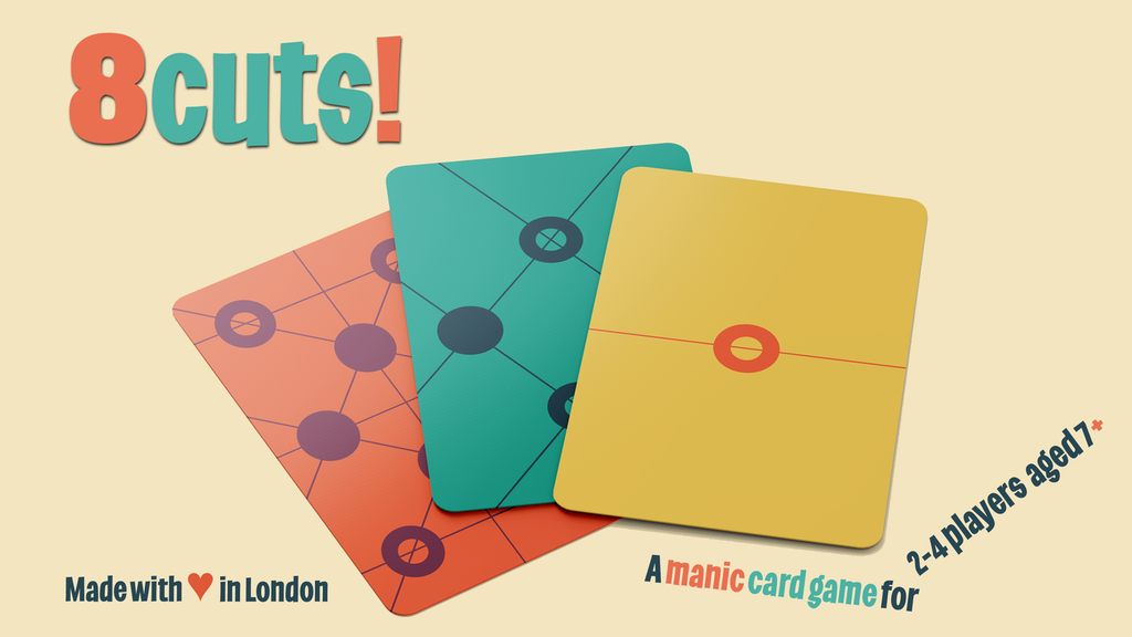 Project image for 8 cuts! is a ridiculously addictive and fast-paced card game (Canceled)