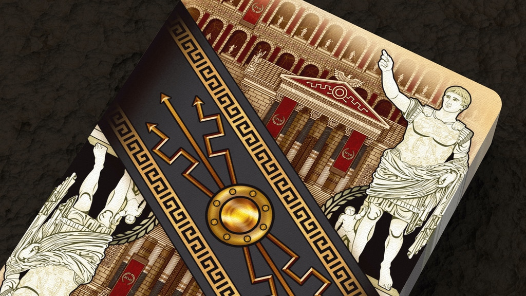 ROME Playing Cards project video thumbnail