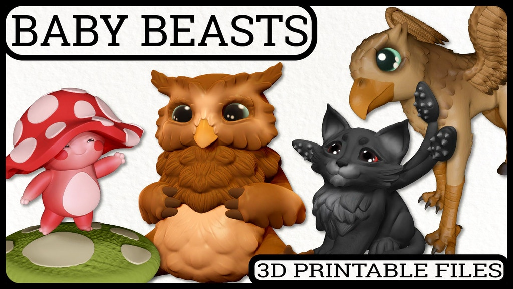 Project image for Baby Beasts Collection