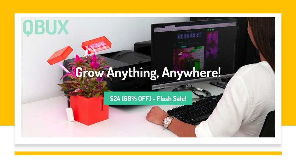 ⏹ QBUX: Grow Anything, Anywhere! ⏹ project video thumbnail