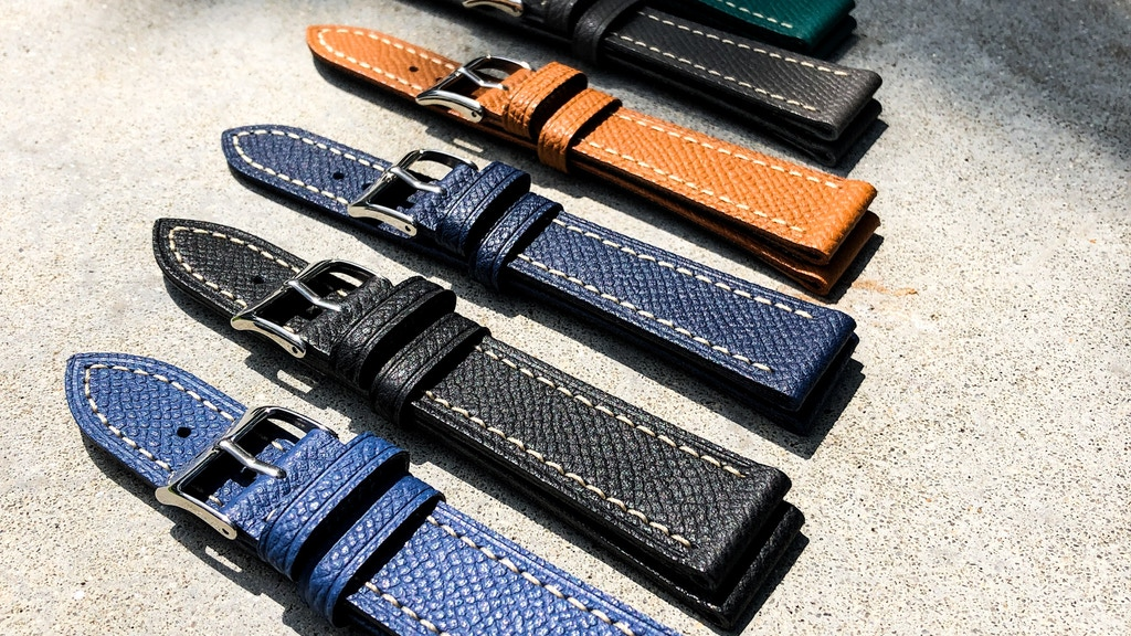 Inspired by Hermes: Handmade Watch Straps for Apple & Luxury project video thumbnail