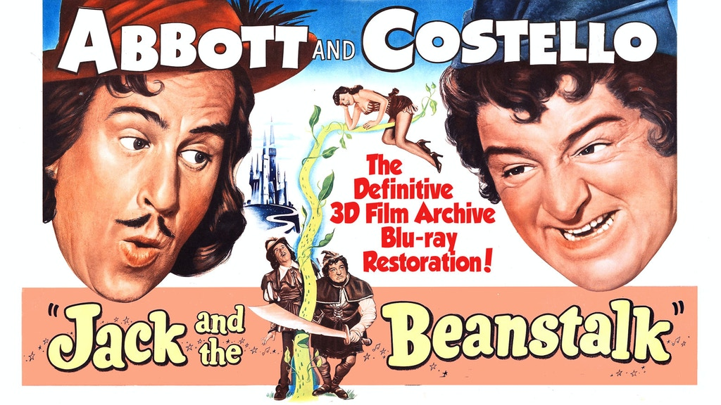 Help Restore Abbott and Costello's JACK AND THE BEANSTALK! project video thumbnail