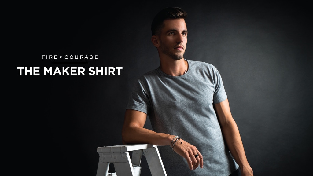 The Maker Shirt w/ 20 Features | Fire & Courage project video thumbnail