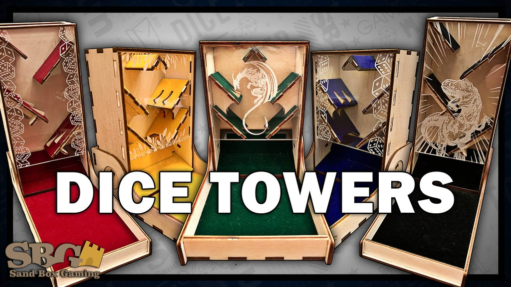 Dice Towers project video thumbnail