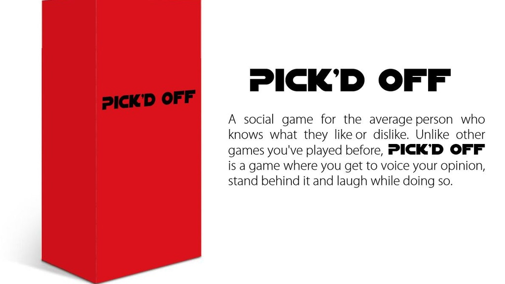 Pick'd Off - a hilarious game of picking favorites project video thumbnail