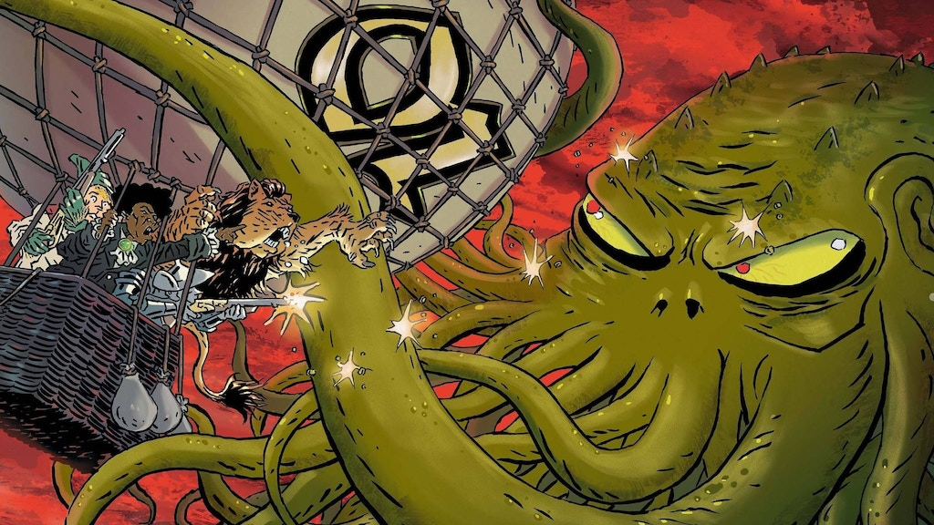 Cthulhu Invades Oz - A 140+ Page ORIGINAL GRAPHIC NOVEL project video thumbnail