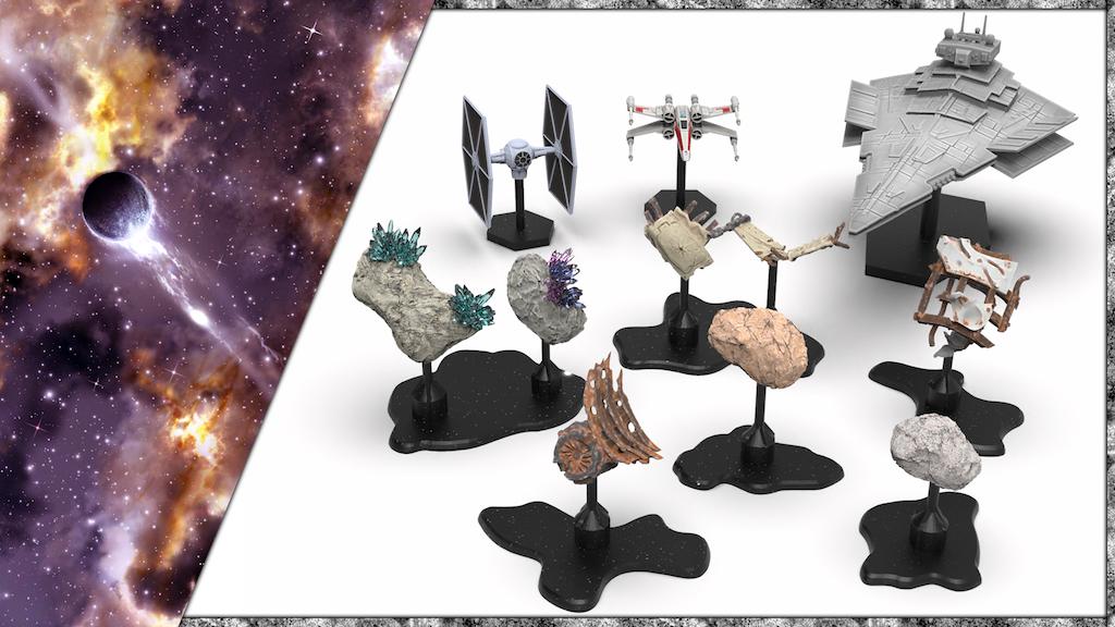 Magnetized Space Battle Terrain for Miniature Wargames project video thumbnail